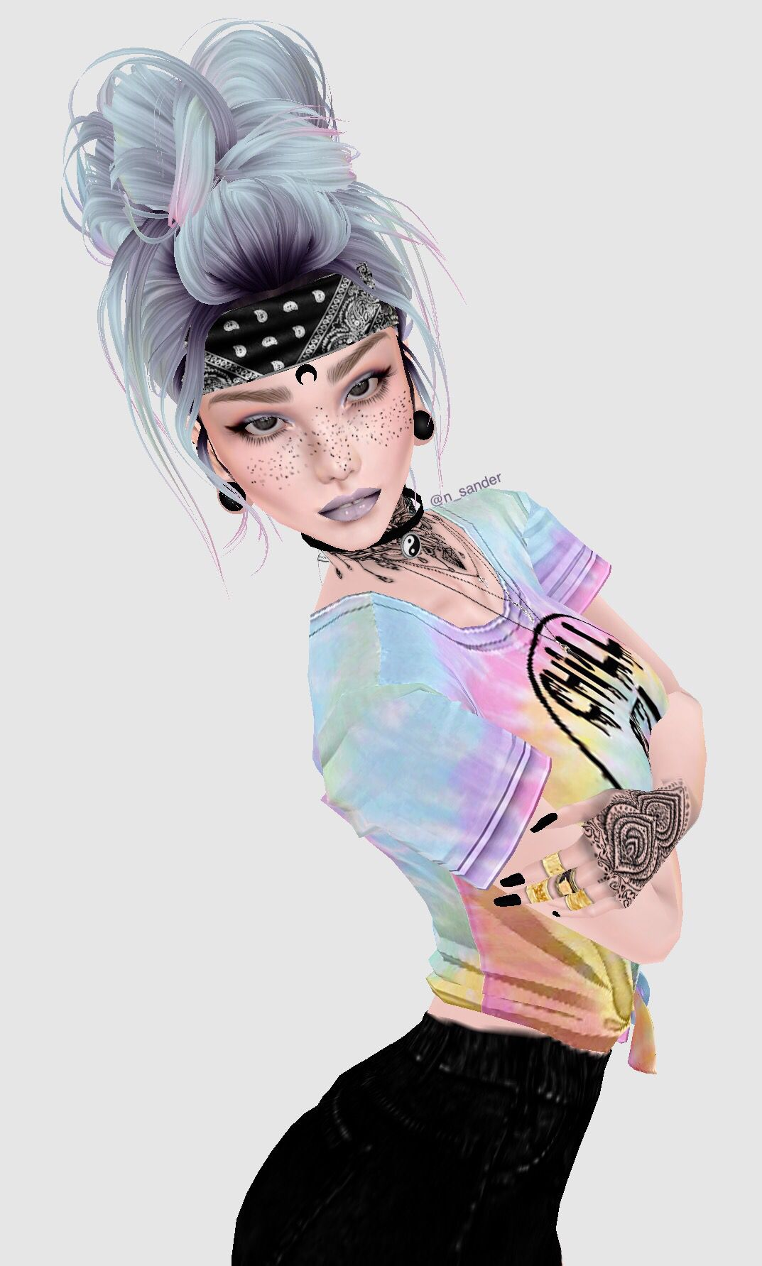 Imvu hippie aesthetic girl Aesthetic girl, Imvu, Anime