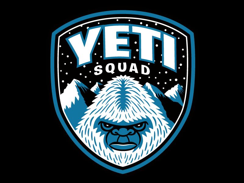 Yeti Squad Bigfoot Patrol Patch Yeti Logo Yeti Bigfoot Illustration