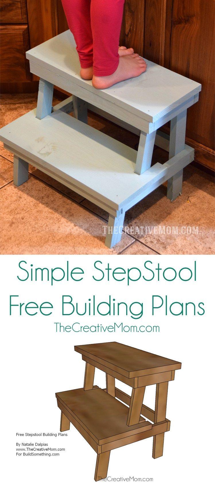 stepstool building plans