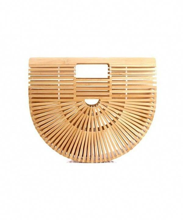 Womens Bags TopHandle Bags Bamboo Bag Small Vintage Cute Purse Beige Large Pu Womens Bags TopHandle Bags Bamboo Bag Small Vintage Cute Purse Beige Large Pu
