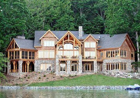 plan 26600gg high end drama with bonus lake house plans