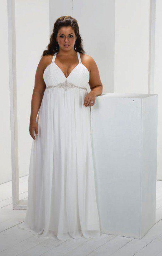 What Style Wedding Dress Suits Large Bust
