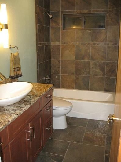 Slate Flooring Bathroom Looking For Pictures Of The Best Looking Bathrooms Slate Look Jpg Slate Bathroom Tile Tile Bathroom Tile Tub Surround