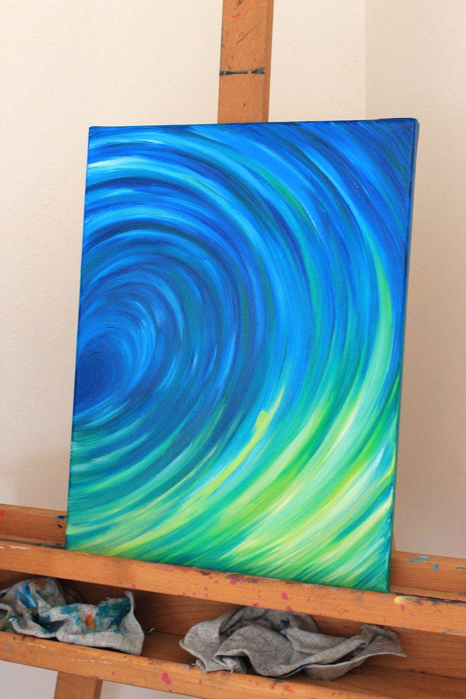 Original Oil Painting of Mermaids, ocean, water, waves 12 x 16 ...
