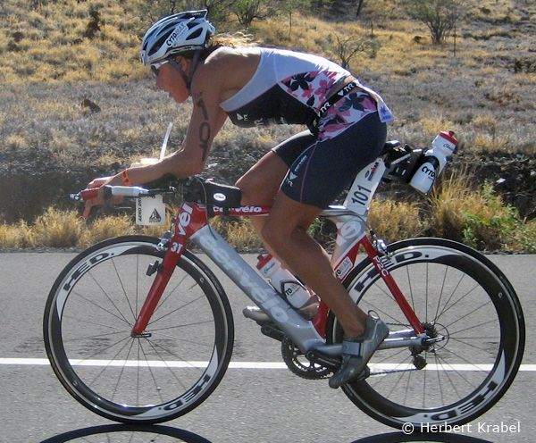 Chrissie Wellington (GBR) - IRONMAN Kona - 2008