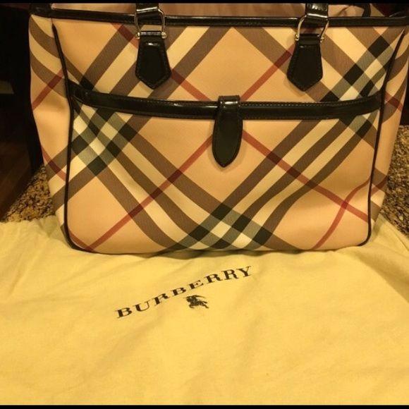 Burberry Bag Used