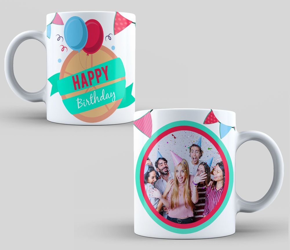 Design Sublimation Mugs Happy Birthday Sublimation Template