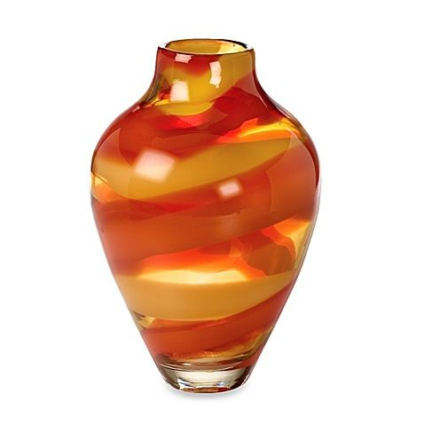 (COMPARE ELSEWHERE AT $325) EVOLUTION BY WATERFORD Red Sea 12-Inch Vase $295 PICK UP OR SHIPS FREE agnellinos.com