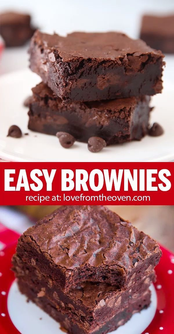 Easy Brownies Made With Cocoa Powder • Love From T