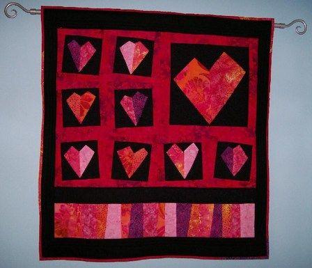 Heart Quilt - Stargazey Style