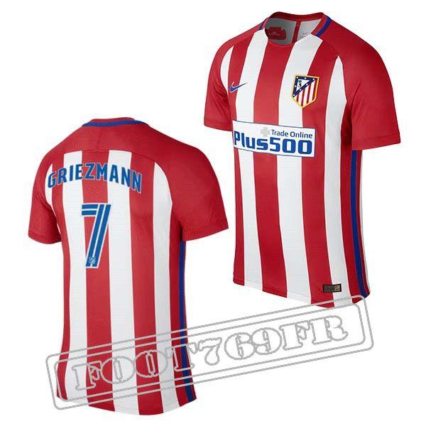 Maillot Domicile Atlético de Madrid Homme