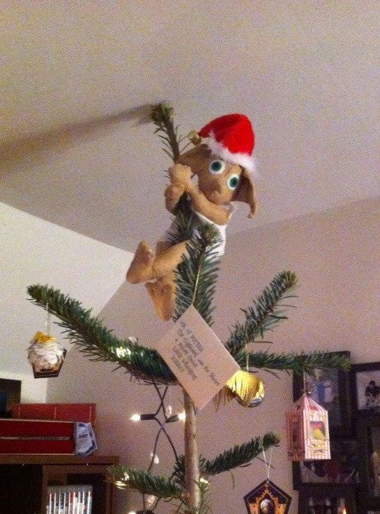 Dobby The House Elf Christmas Tree Topper Christmas Decorating