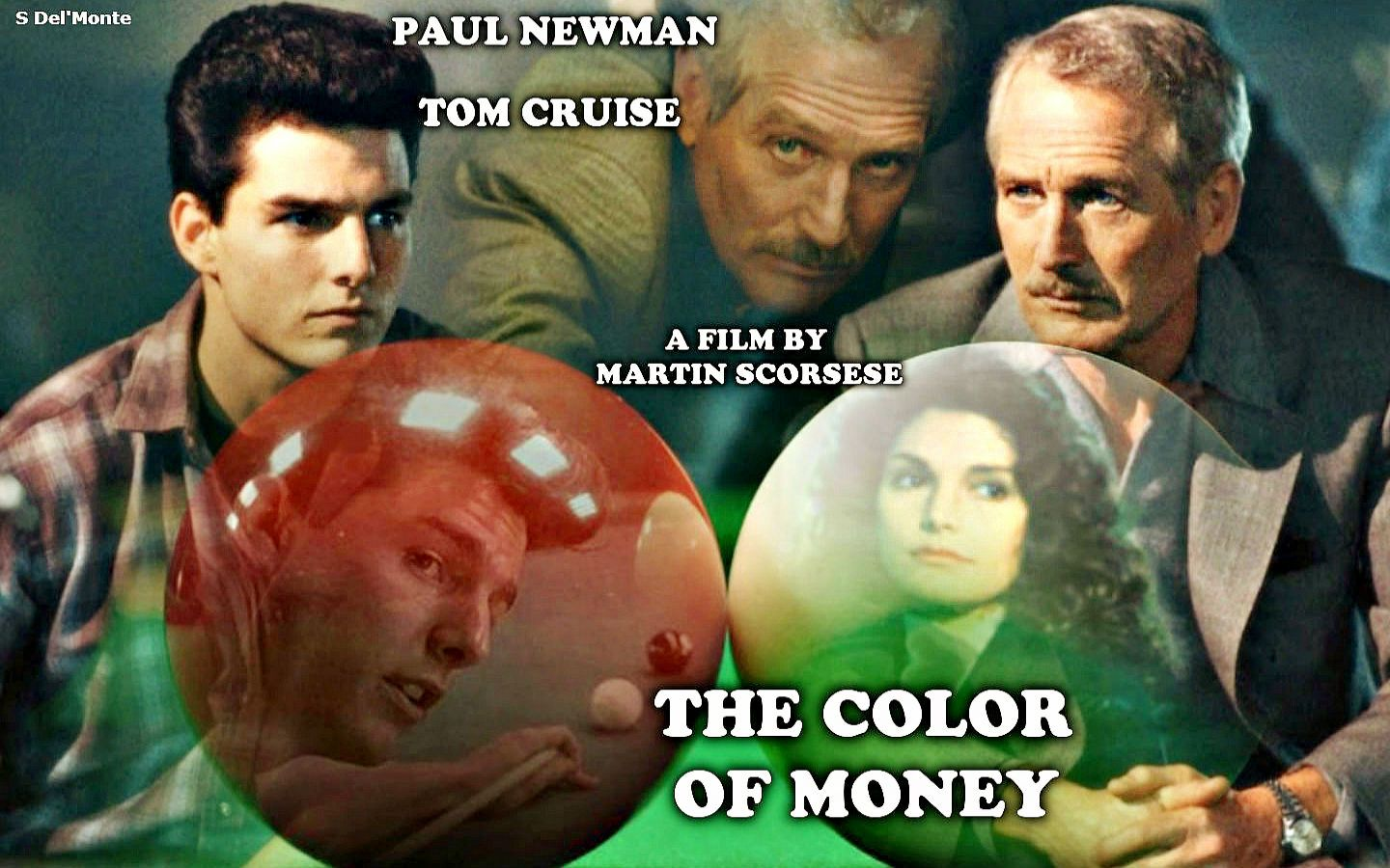 The Color Of Money Paul Newman Tom Cruise Martin Scorsese