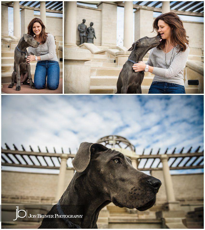 Becky & Luna Carmel, Indiana Pet Photography Dog flea