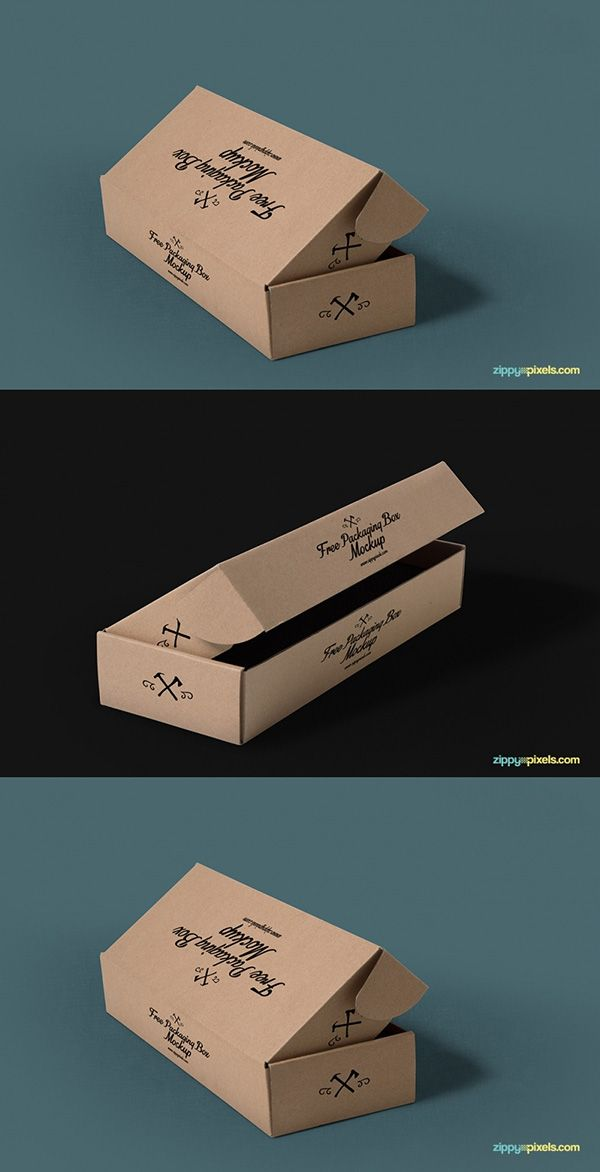 Download 3 Free Packaging Mockups With Customizable Backgrounds ...