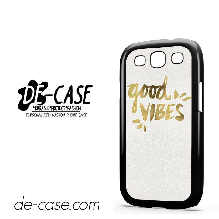Quotes Good Vibes DEAL-9052 Samsung Phonecase Cover For Samsung Galaxy S3 / S3 Mini
