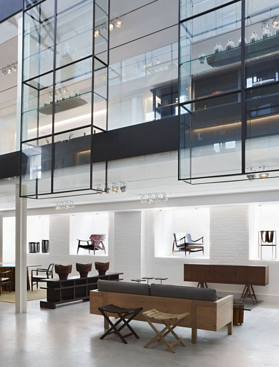 Modern furniture showroom design - Architecture