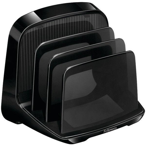 Black 9473301 Fellowes I-Spire Series File Station//Organizer