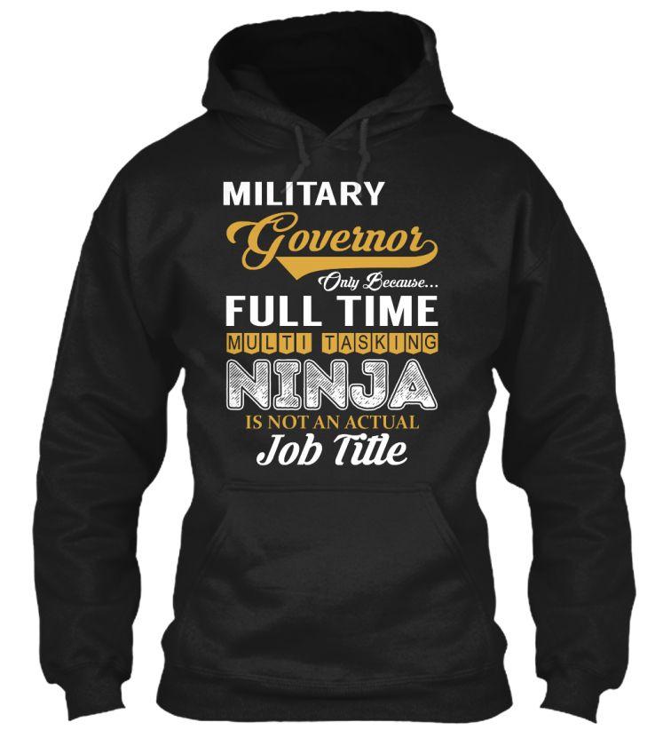 Military Governor - NINJA #MilitaryGovernor