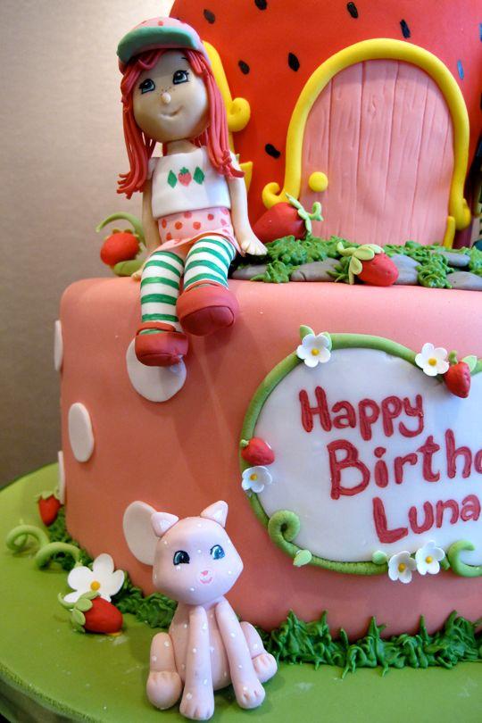 Strawberry Shortcake Grows Up Cake Pinterest