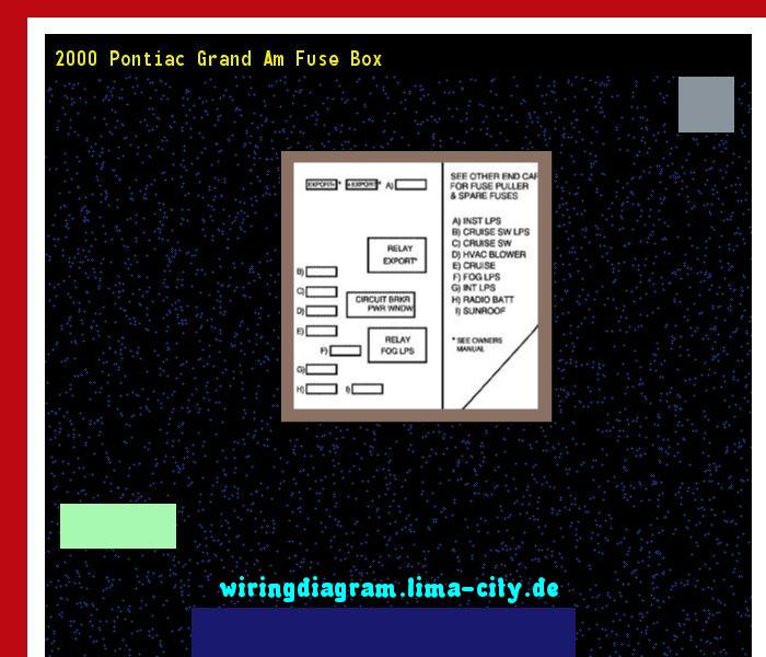 2000 Pontiac Grand Am Fuse Box Wiring Diagram 174525 Amazing Wiring Diagram Collection Pontiac Grand Am Pontiac Fuse Box