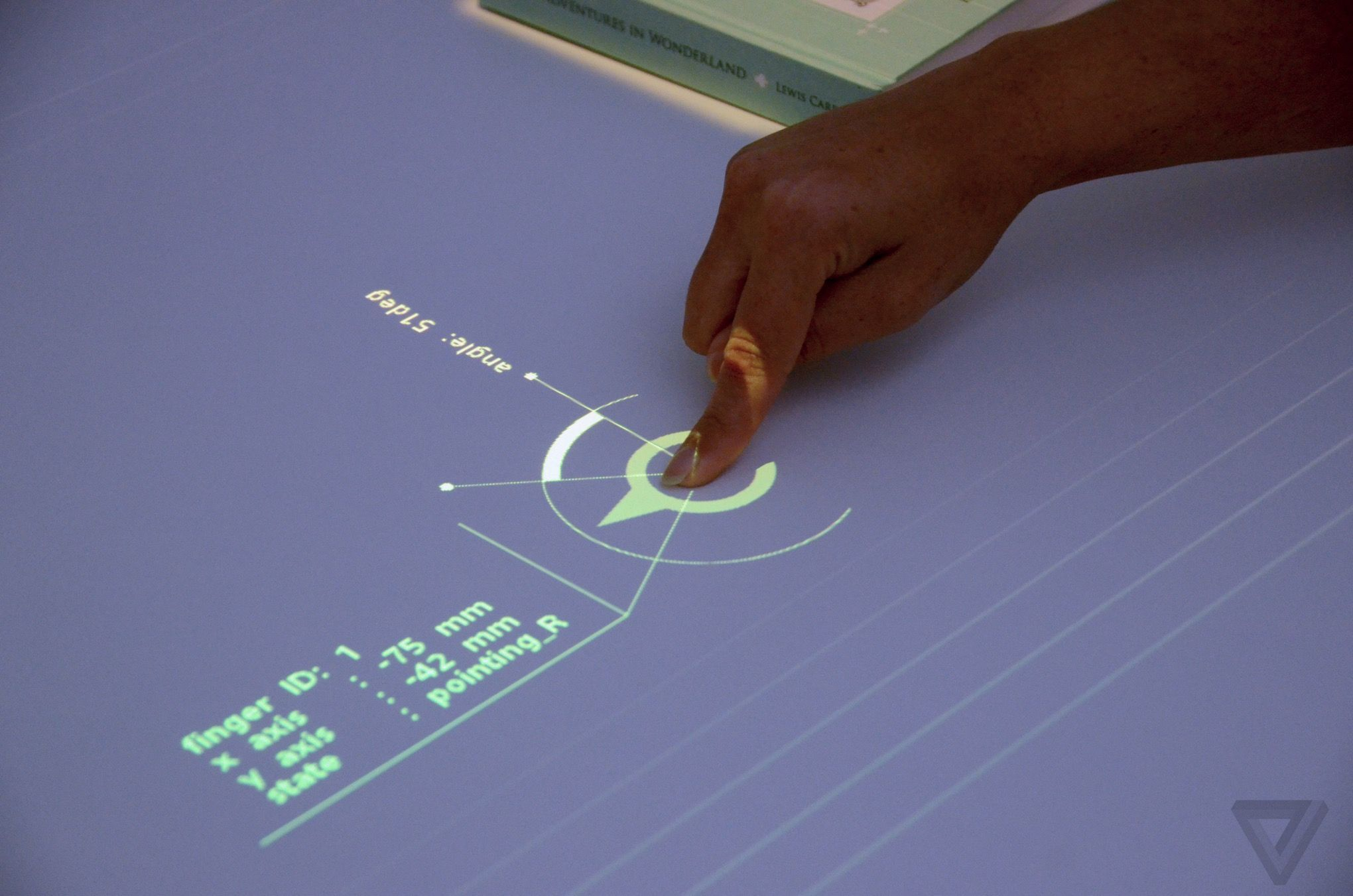 Sonyus prototype projector turns any tabletop into a touchsensitive