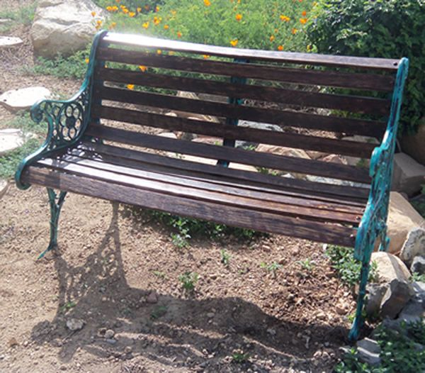 Antique Victorian Rose And Thistle Bench Royal Parks Garden Bench With Rose And Thistle Emblem Skamejka