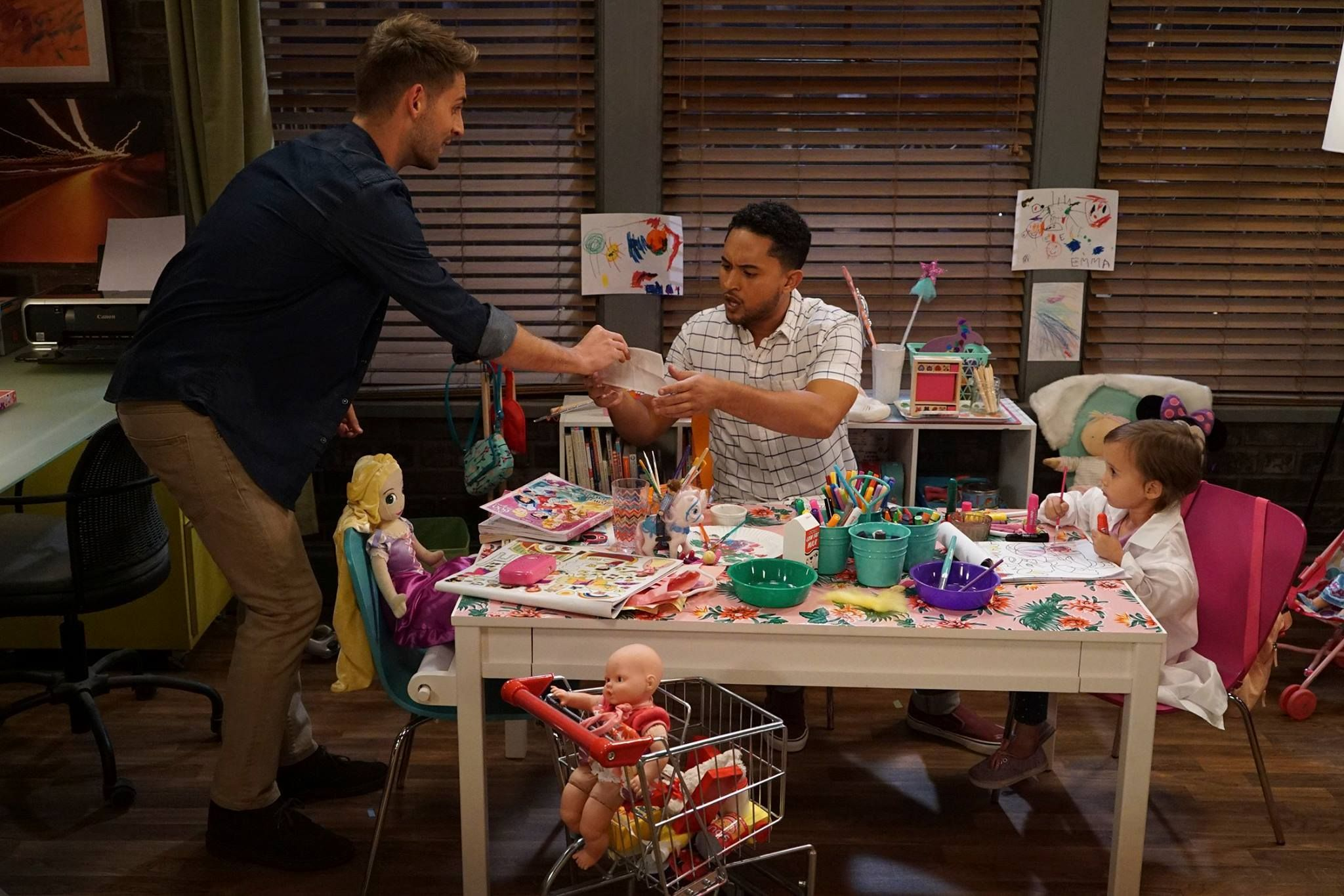 """#BabyDaddy 6x01 """"To Elle and Back"""" - Ben, Tucker and Emma"""
