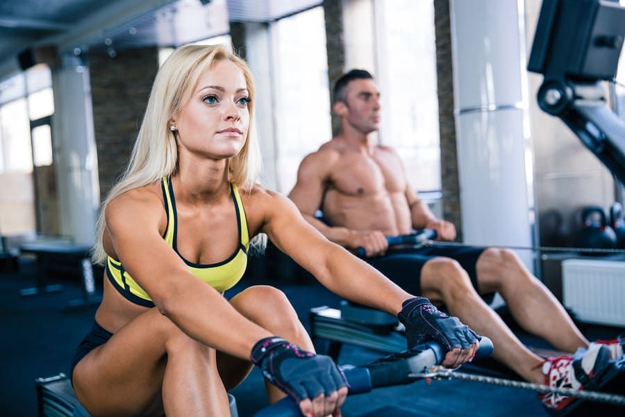 Rower Vs Air Bike Fight Rowing Machine Workout Effective