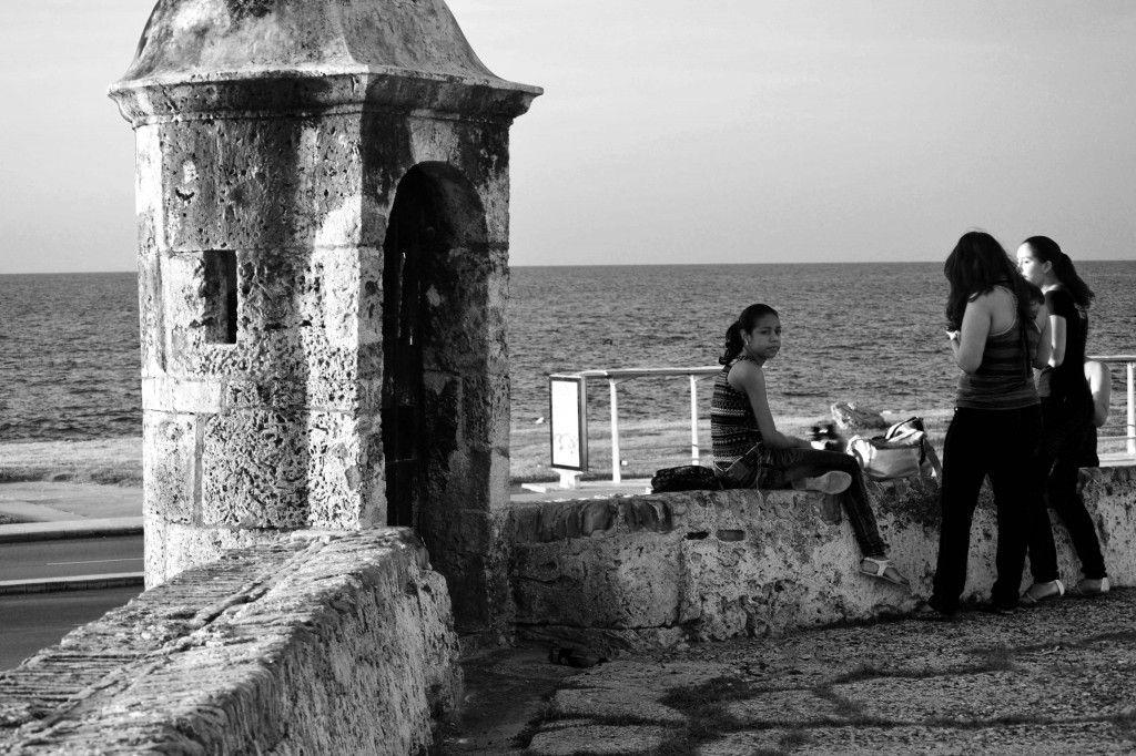 Backpacking Cartagena Wall