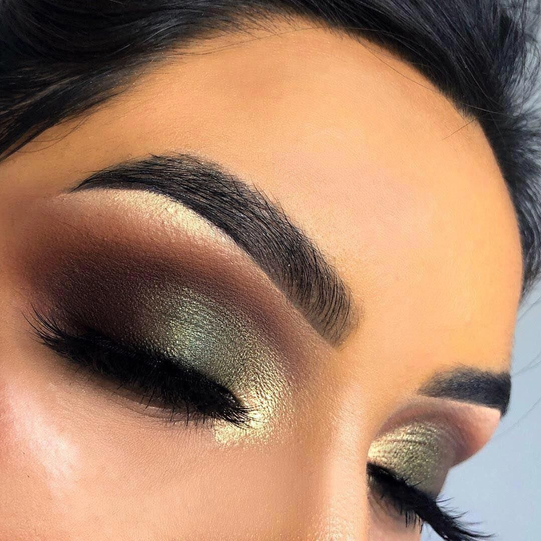 Eyemakeup Olive makeup