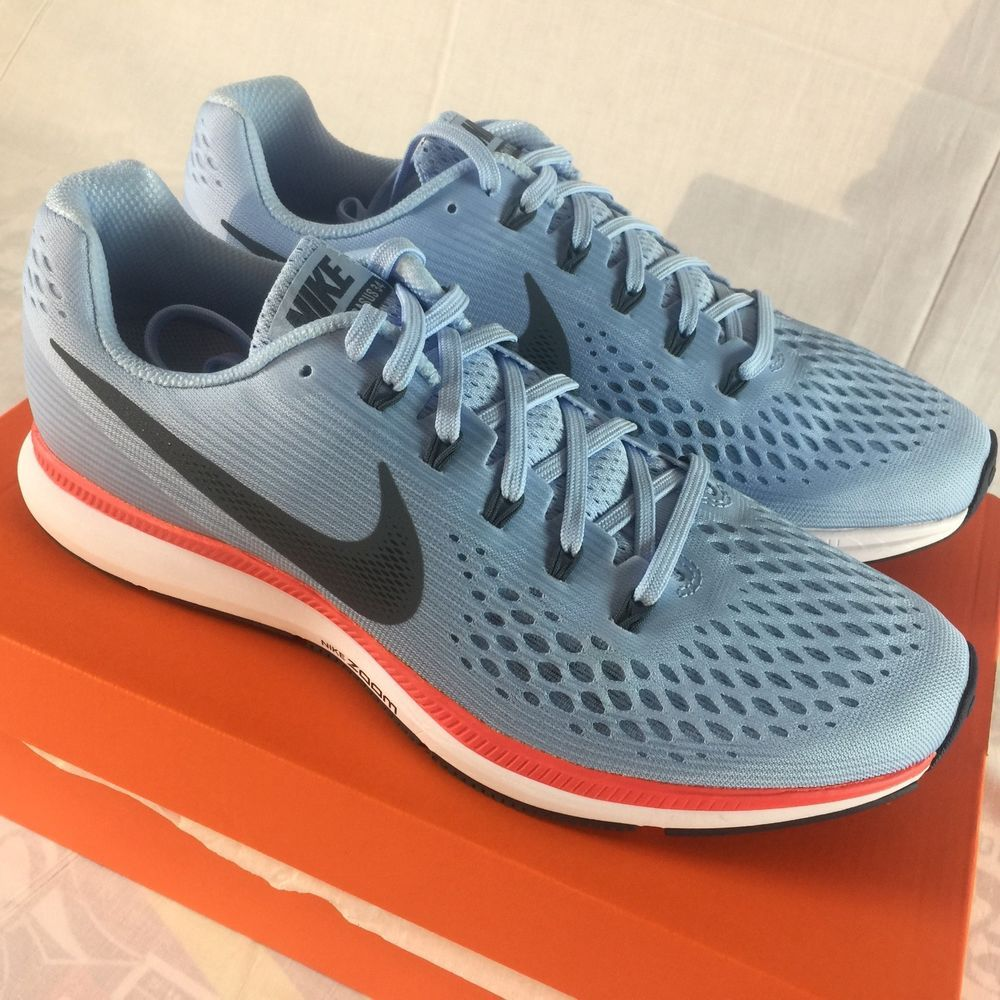 9c046525352f Nike Air Zoom Pegasus 34 Men s Size 9.5 Ice Blue 3M Running Training Shoes  NEW  fashion  clothing  shoes  accessories  mensshoes  athleticshoes (ebay  link)