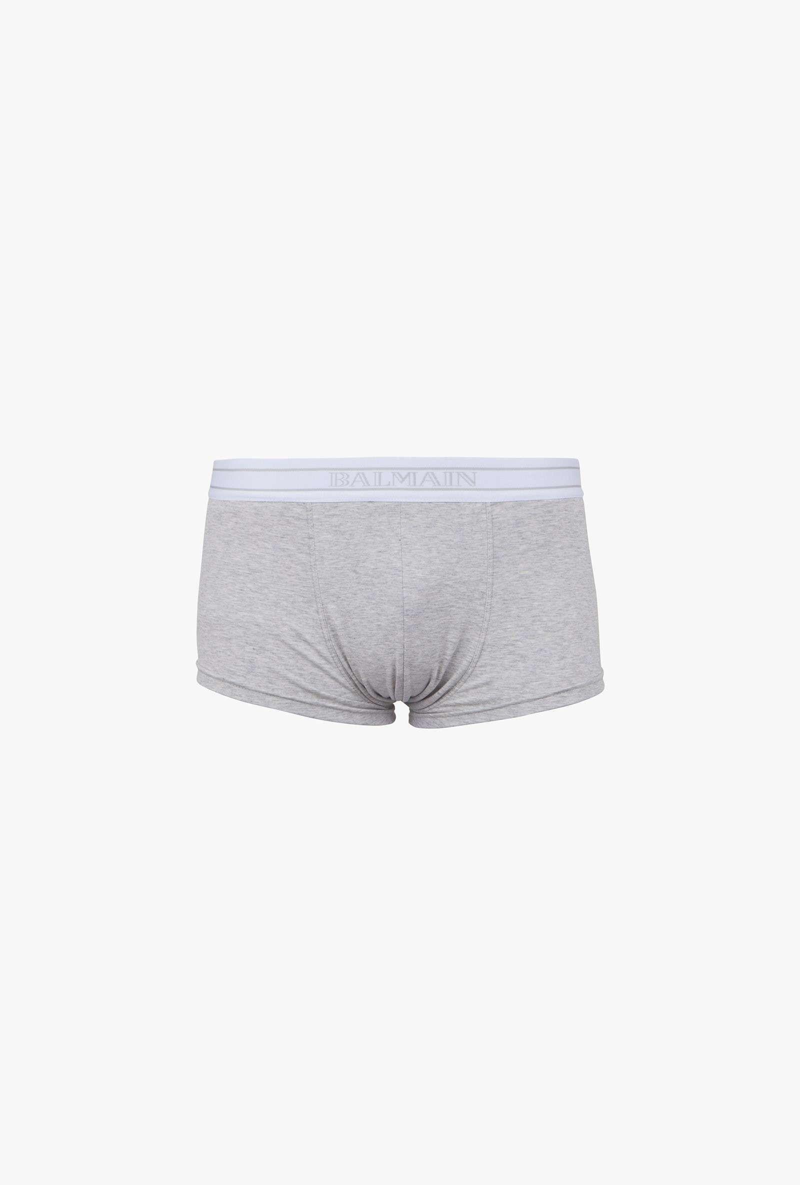 9a93728874 Pack de trois boxers en coton stretch | T-Shirts homme | Balmain ...