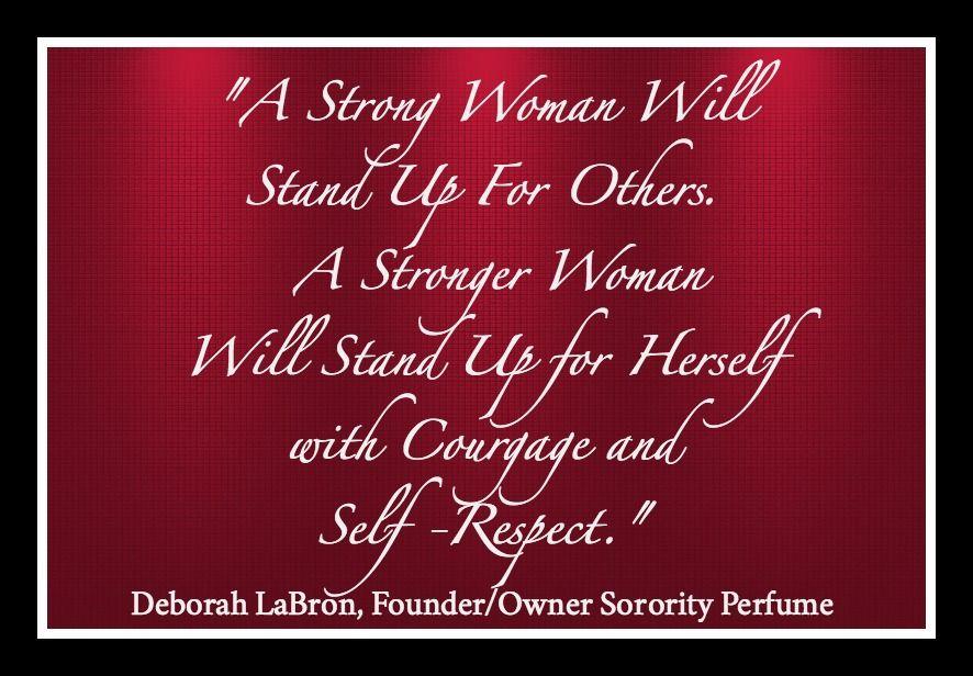 Deborah LaBron, Founder/ Owner Sorority Perfume. #SororityPerfume #Inspiration