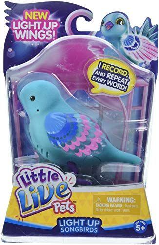 Little Live Pets Bird Single Pack Shelly Shimmer Children