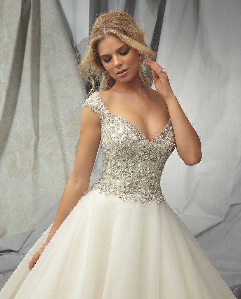 Clarissa brides selection wedding gown sensational sparkles
