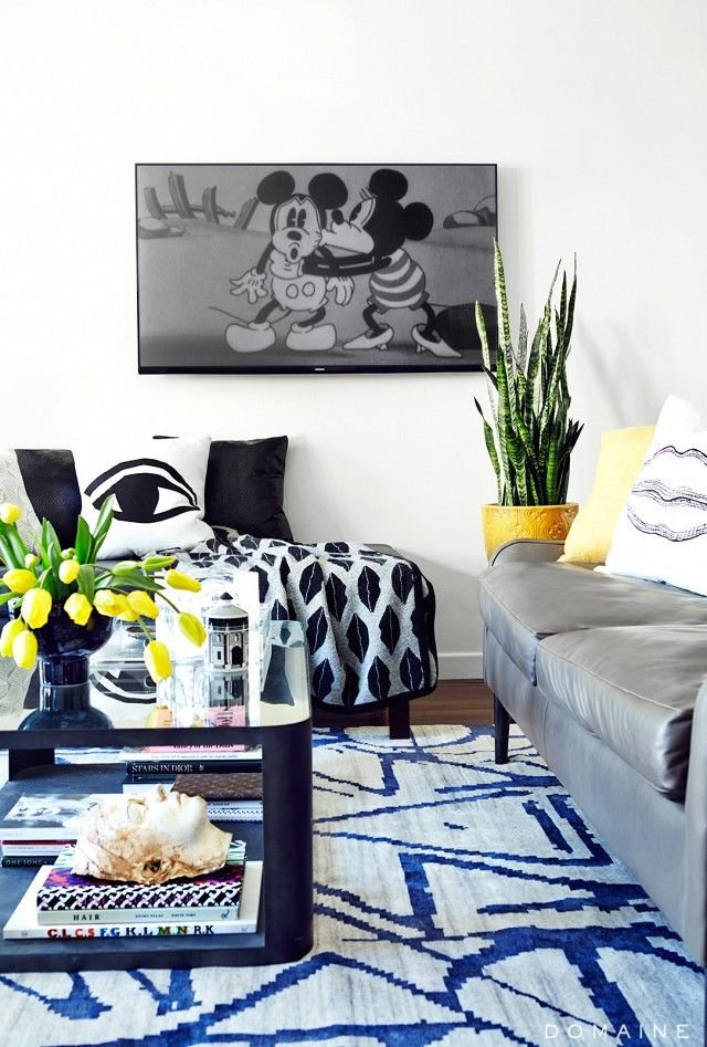 Home Tour: Chiara Ferragniu0027s Pop Chic Los Angeles Home. White Living RoomsLiving  SpacesLiving ...