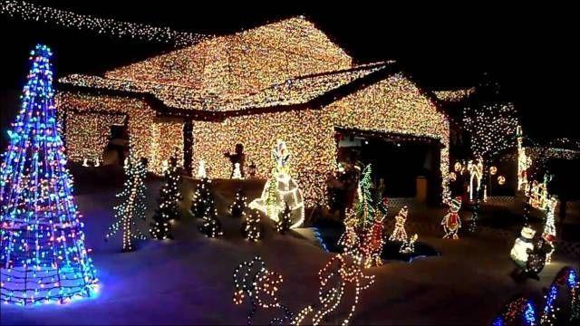 christmas lights on house with music | Decorating For Christmas ...