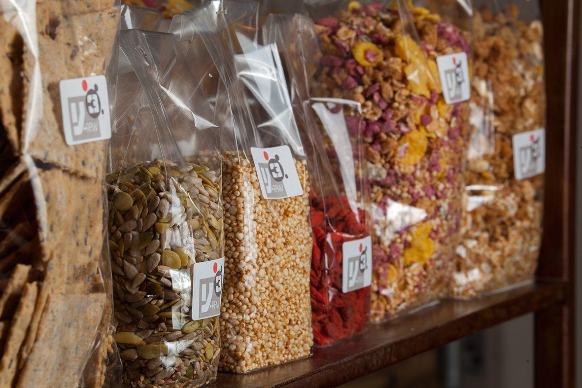 Le confezioni preparate per voi con ingredienti biologici