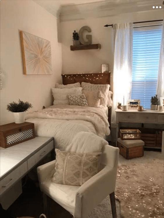 20 Pinterest Worthy Dorm Room Ideas Simply Allison Dorm Room Inspiration Dorm Room Designs Small Apartment Bedrooms