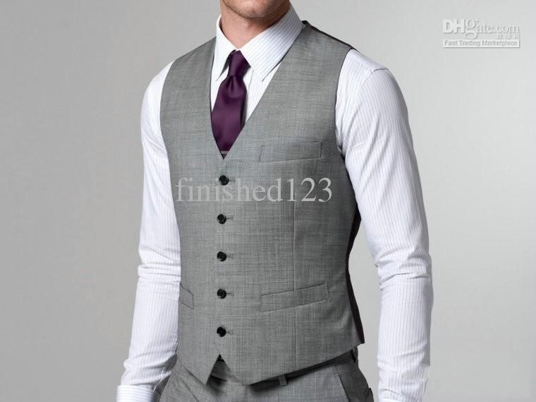 Fashion Design Groom Vests Groomsmen Best Man Men Business Ok 22 As Low 30 96 Also Vest And Tie Black Suit Jacket From