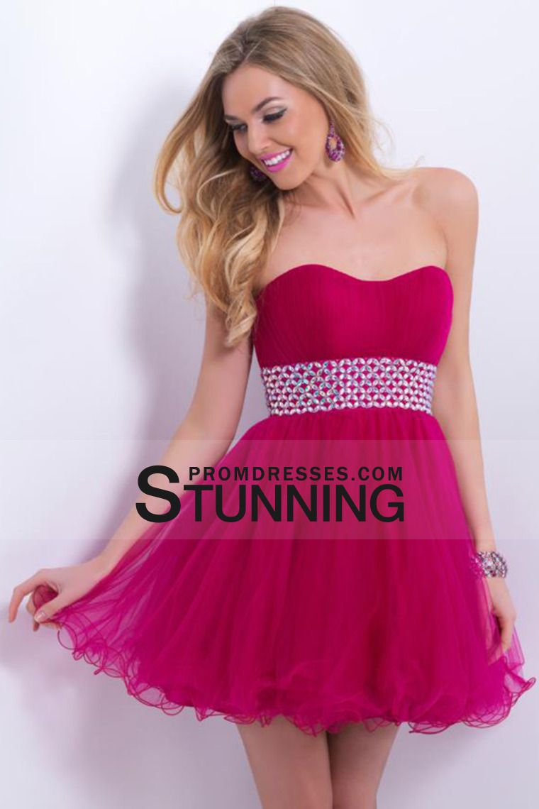 homecoming dresses sweetheart princess with tulle skirt beaded