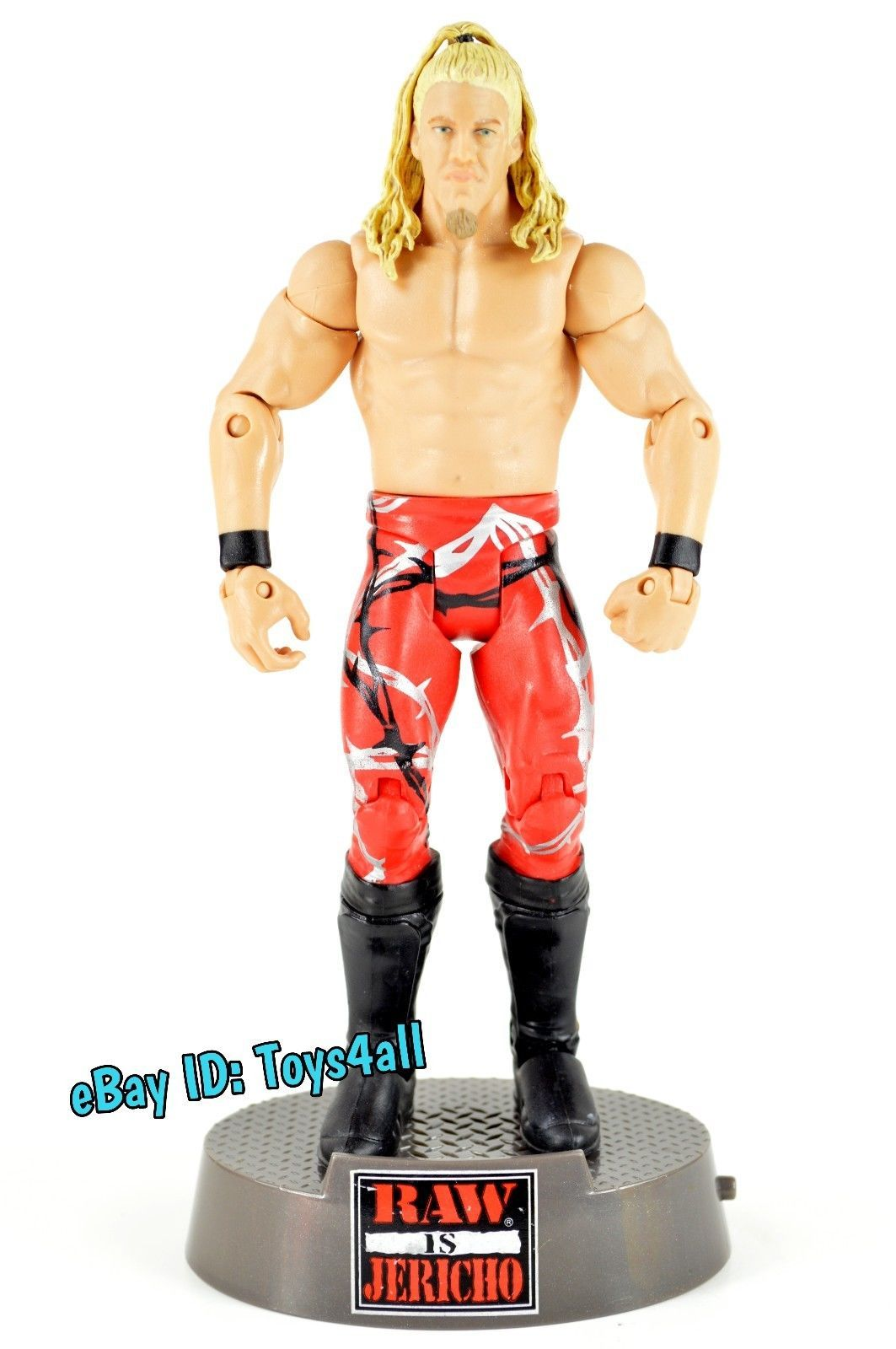 Entrance Greats Chris Jericho WWE MATTEL BASIC WWF WCW