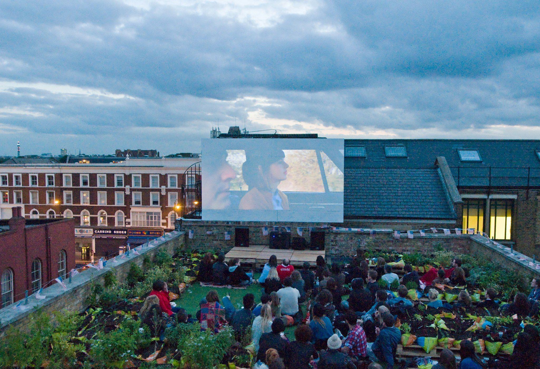 Top 10 Rooftop Bars In London Outdoor Cinema Best Rooftop Bars London Bars