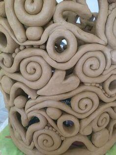Windlicht töpfern #potterypaintingdesigns