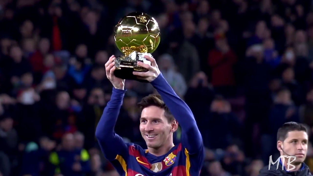 Lionel Messi All 6 Iconic Ballon D Or Presentations At The Camp