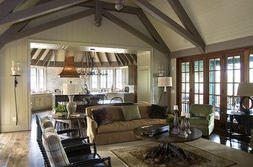 Atlanta Traditional Living Room French Doors Design, Pictures, Remodel,  Decor And Ideas