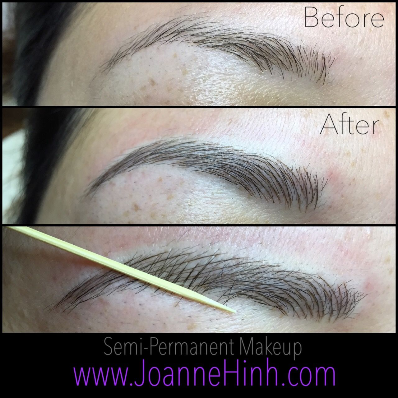 Microblading 3d Hair Strokes: Hairstroke Eyebrow Embroidery By Joanne Hinh. Brow