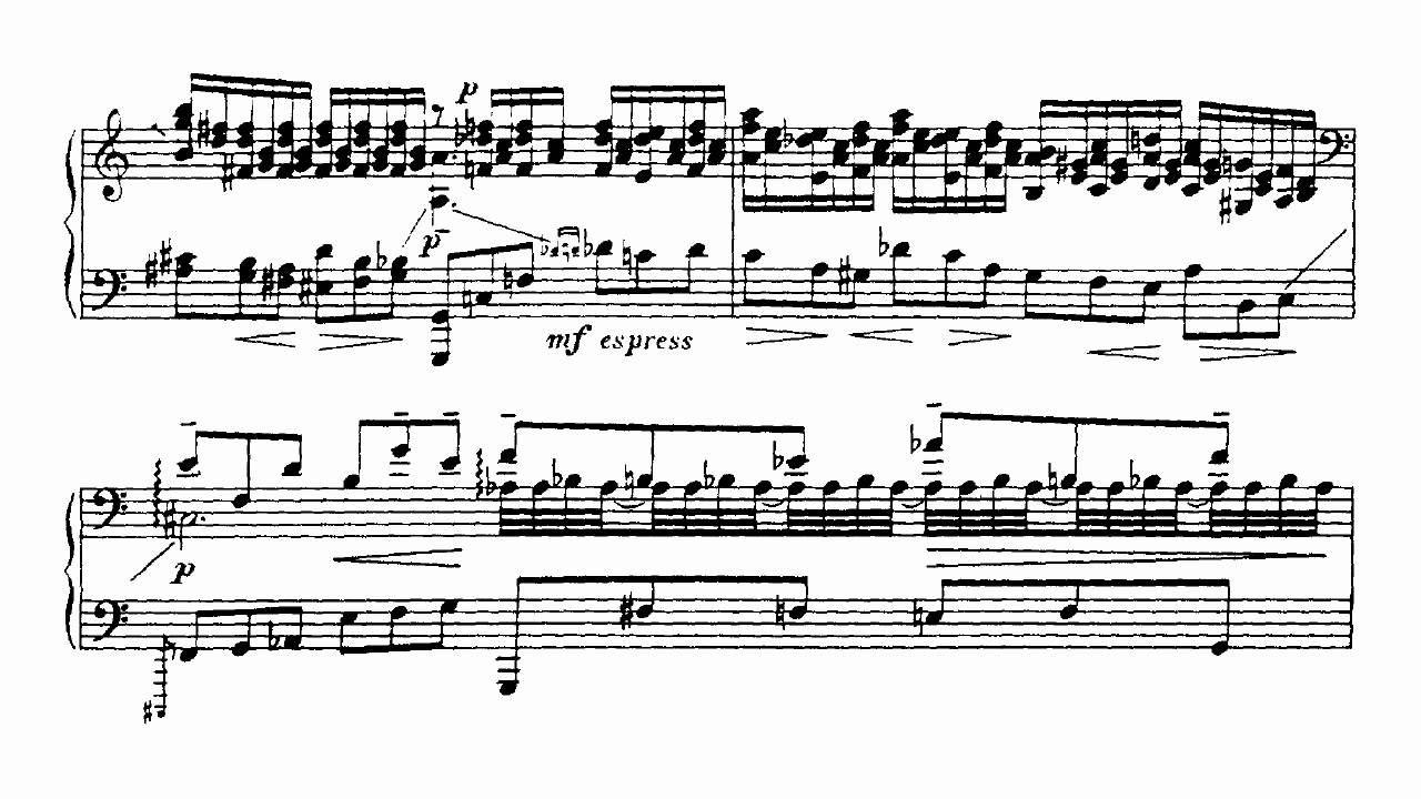 Prokofiev Piano Concerto No.2 Op.16 Movement 1 (Gutierrez)
