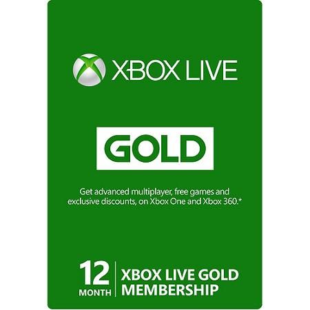 Month Xbox Live Gold Membership Xbox   Xbox One